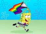 SpongeBob PridePants by AfroOtaku917