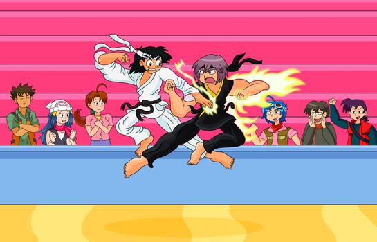 The Poke-Karate Kids