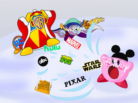 Kirby Sucking Monopoly