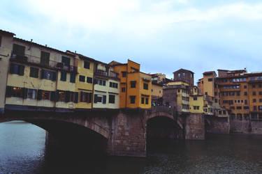 Ponte Vecchio by thesilencelistener