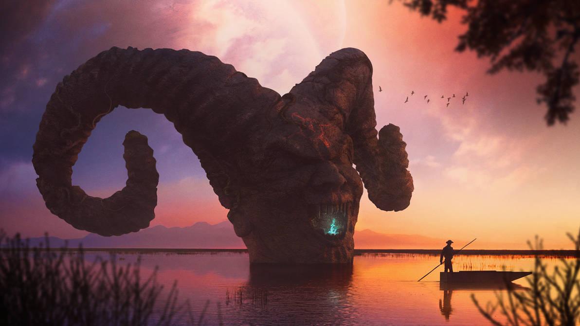 Demon's Lake by shahanb
