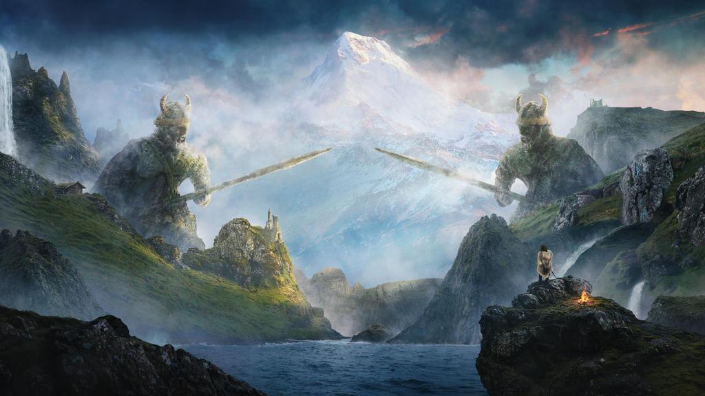 Nordic Heavens by shahanb