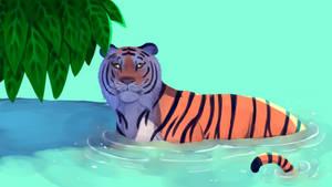 ominous tiger