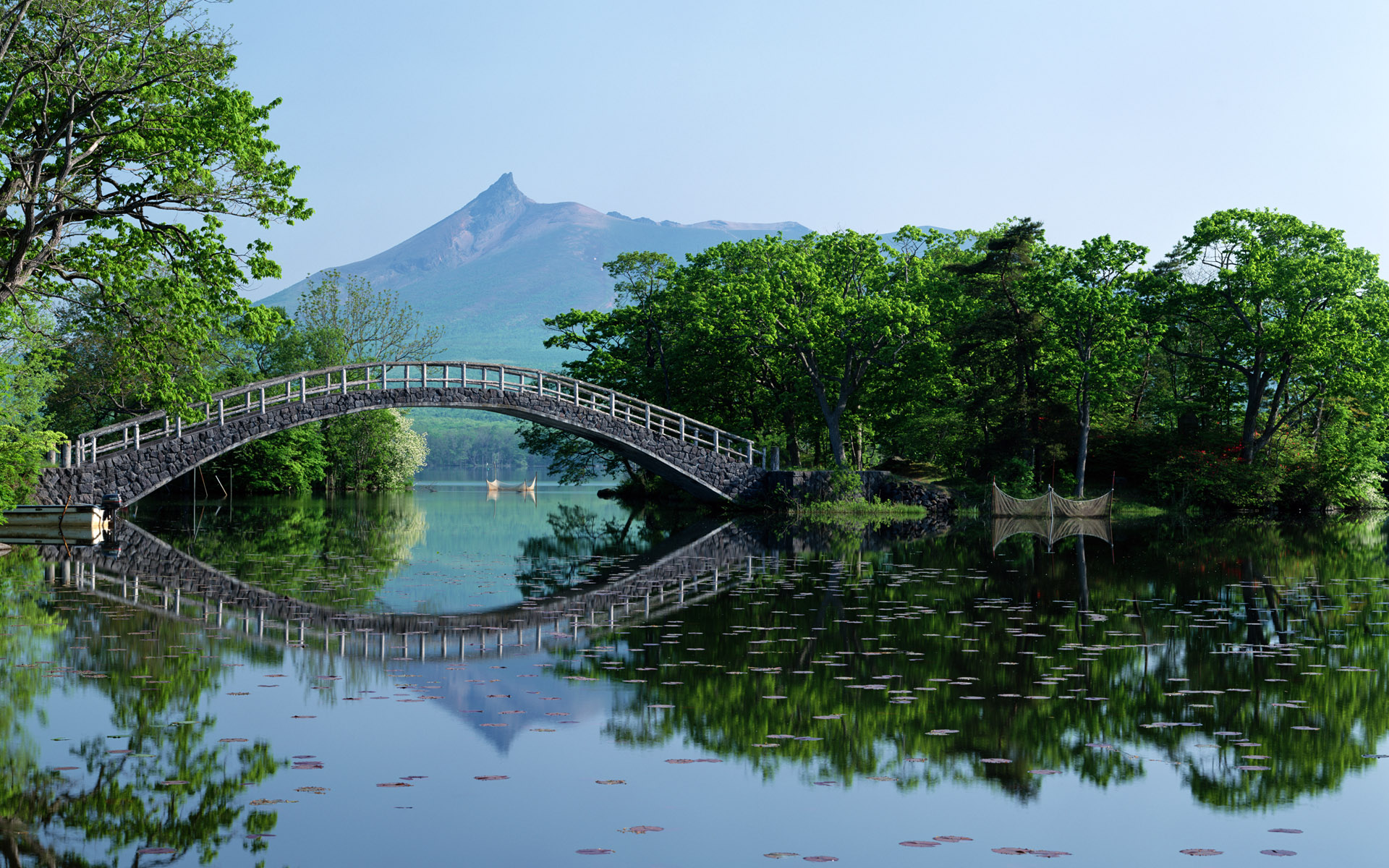 A Bridge Over The Water By Zen Warrior