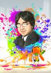 Dedication to Satoru Iwata