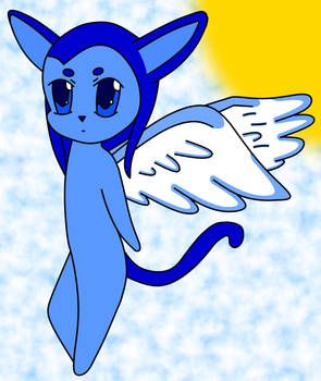 Winged Cat Chibi