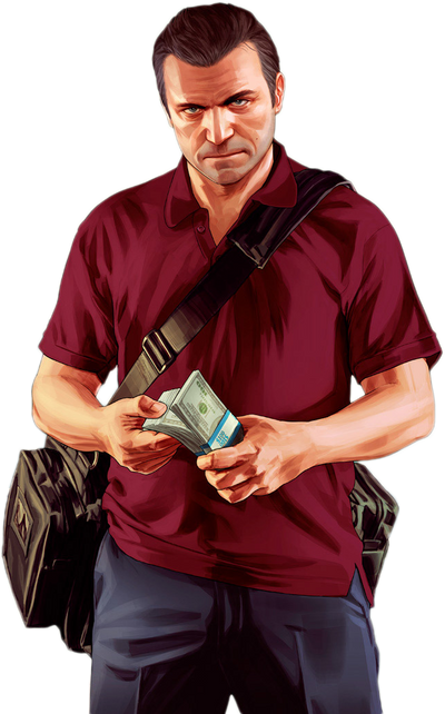 Pictures of Michael Gta 5 Png - #rock-cafe