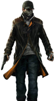 Watch Dogs - Aiden Render By Ashish913
