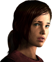 The Last OF Us - Ellie Face Render By Ashish913 by Ashish-Kumar