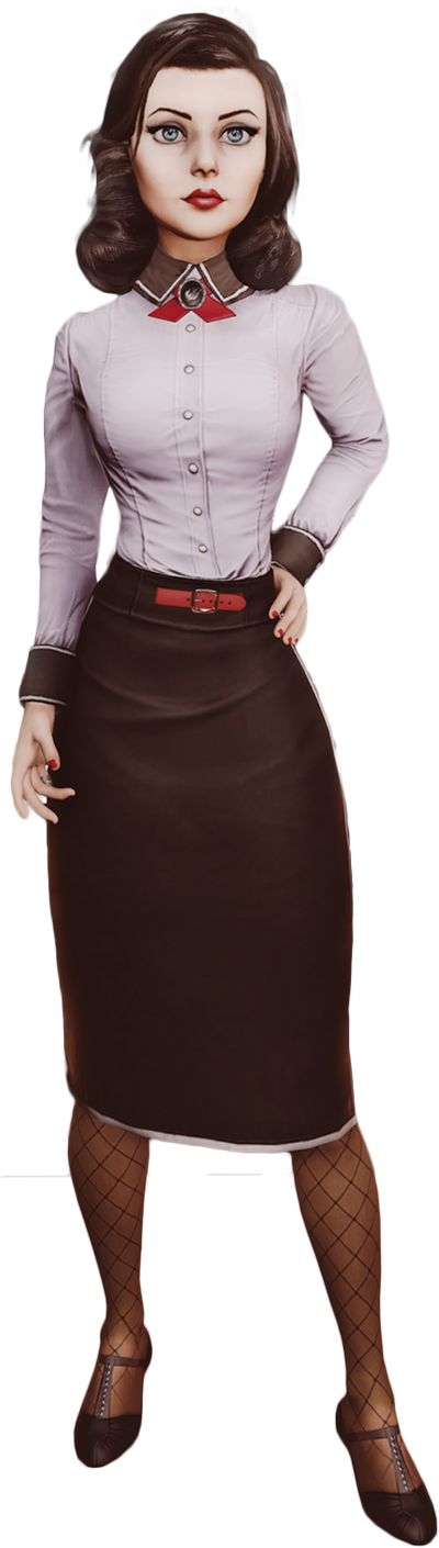 Bioshock Infinite - Elizabeth Render By Ashish913 by Ashish-Kumar