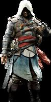 Rare Assassins Creed IV Render By Ashish913 by Ashish-Kumar