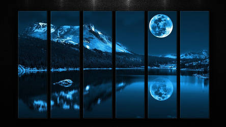 Moon - Wallpaper By Ashish913 by Ashish-Kumar