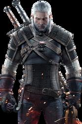 The Witcher 3 - Geralt Render by Ashish-Kumar