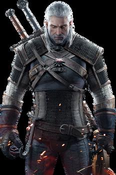 The Witcher 3 - Geralt Render