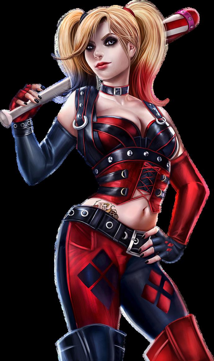 Harley Quinn Render by Ashish-Kumar