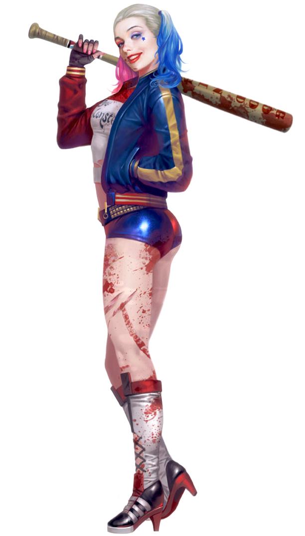 Harley Quinn Sexy by Ashish-Kumar