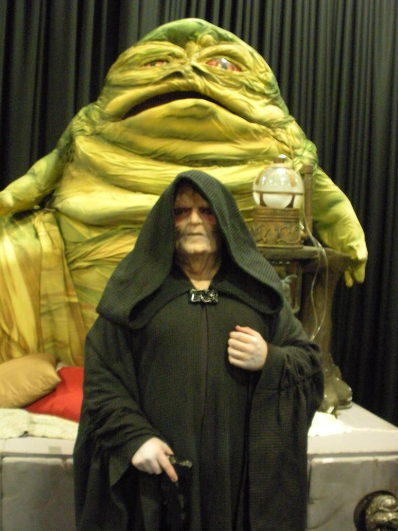 Jabba the Hutt and Palpatine by owlgirl113 on DeviantArt Jabba The Hutt Cosplay