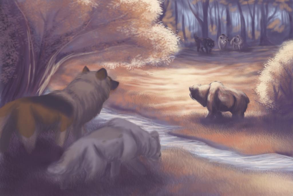 Unwelcome - Bear Hunt by xFrostfall