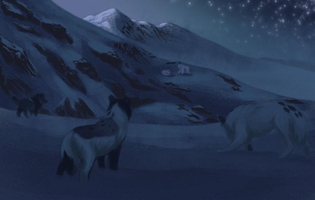 Moonlight - Hunting by xFrostfall
