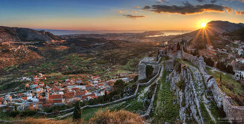 On the fortress by Lidija-Lolic