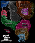 San Andreas Stories Counties