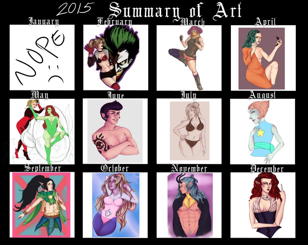 Art of 2015 by LippyTappyTooTa