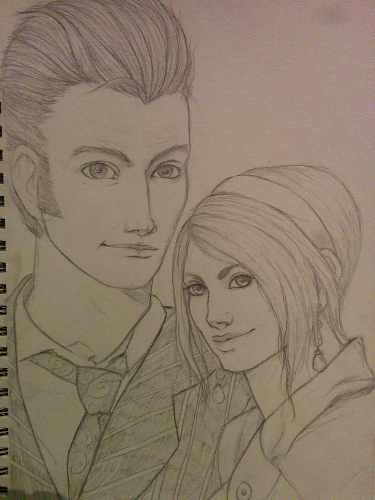 The Doctor And Rose Tyler by LippyTappyTooTa