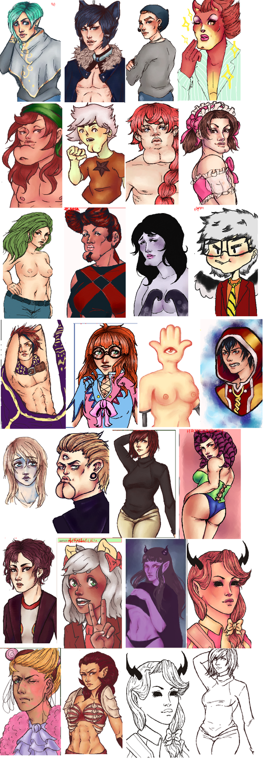iScribble Junk 108 by LippyTappyTooTa