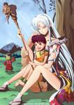 Sesshomaru X Rin ::Gender Bender:: by DrWafu