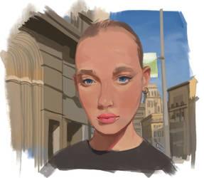 Portrait Study 1