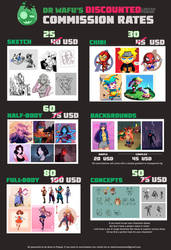 Discount sale on Commissions!!