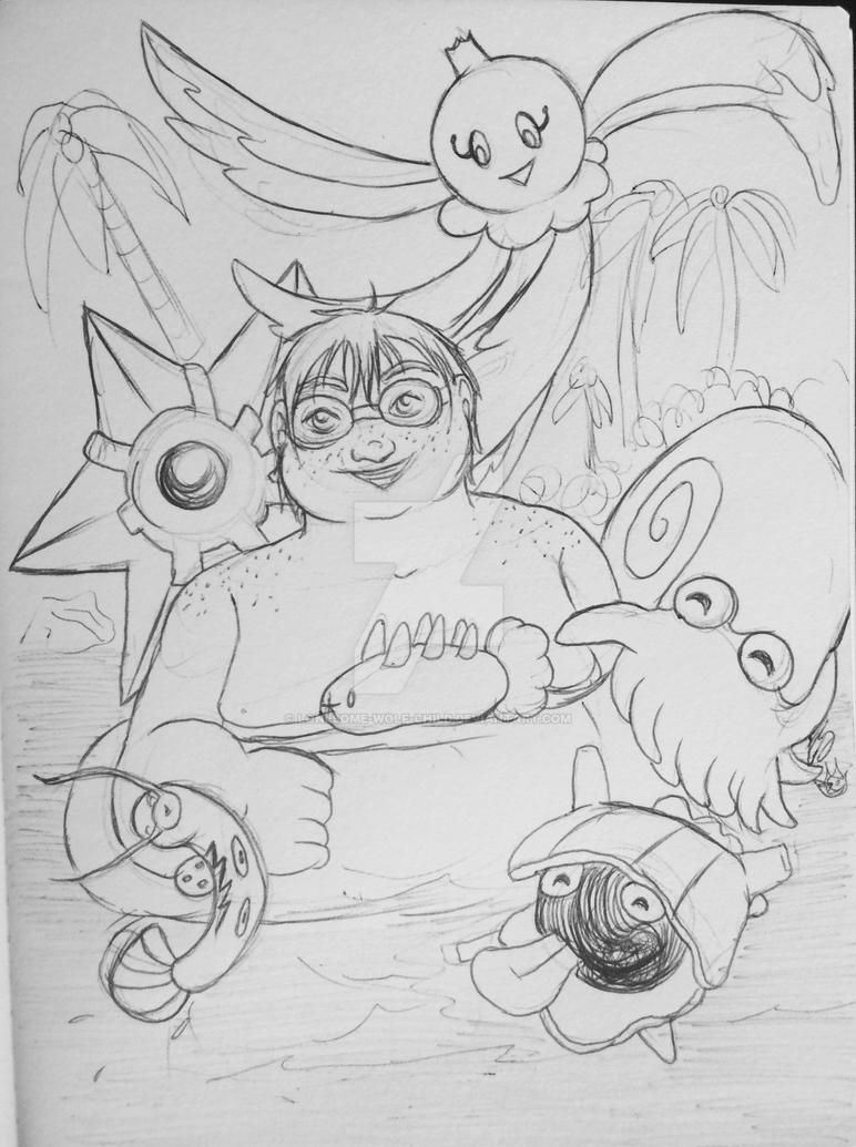 Pudge and his Pokemon -PTS- by lonesome-wolf-child on DeviantArt
