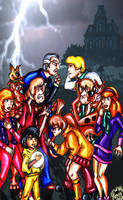 13 Ghosts meets Mystery Inc. by pythonorbit