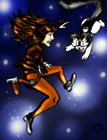 Marz and Blacktail Free Fall by pythonorbit