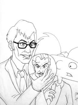 The Doctor, Van Ghoul, and Arnold
