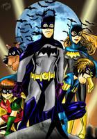 Scooby Doo Batman Crew by pythonorbit