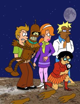 Scooby Doo Futurama