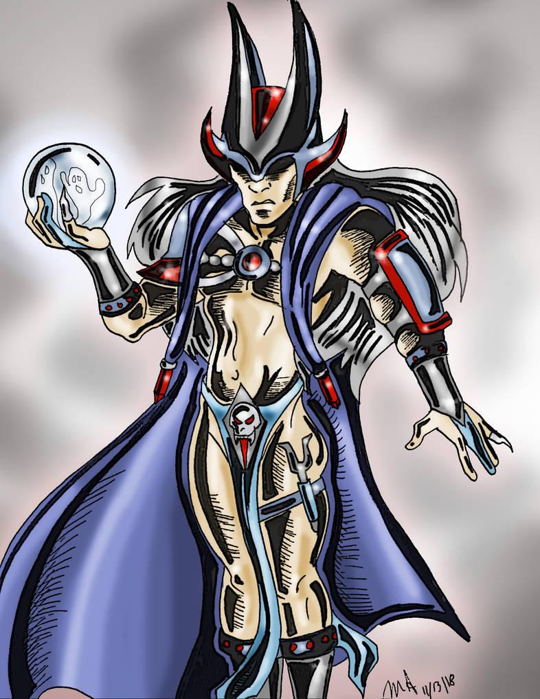 The Garnet Reaper by pythonorbit