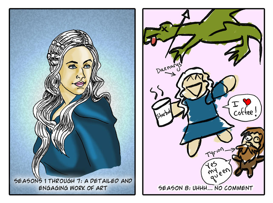 Game of Thrones Season 8 by pythonorbit