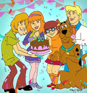 Happy 50th Scooby Doo!