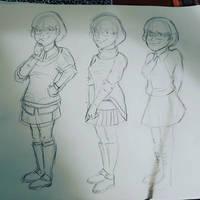 Velma Outfit (Zombie Island 2 remake comic)