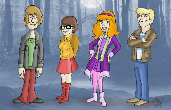 Scooby Gang (Zombie Island 2 remake)
