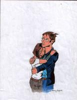 Tim Hunter and Kalesh by pythonorbit