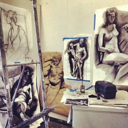 Figure Drawing Studio  by infinisea