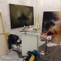 Painting Studio by infinisea