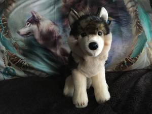 Douglas Atka Wolf Plush