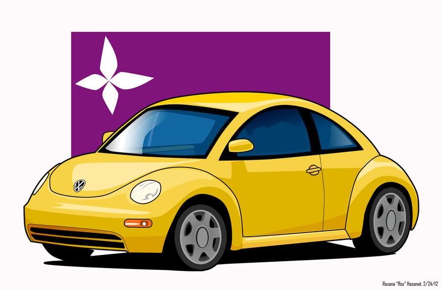 Vw New Beetle 98 Cartoon By Roxioxxltu On Deviantart