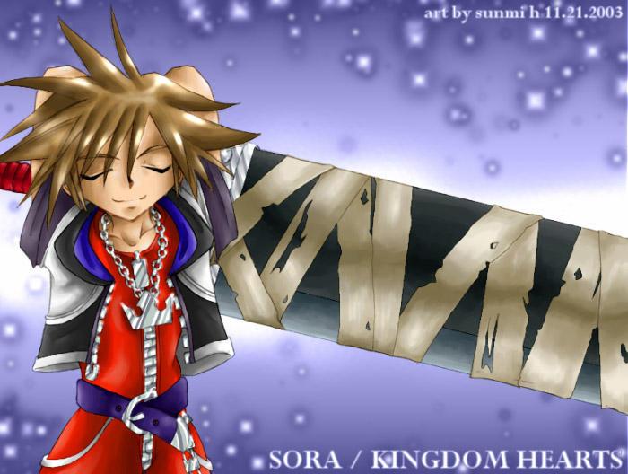 Kingdom Hearts: Sora by soohong