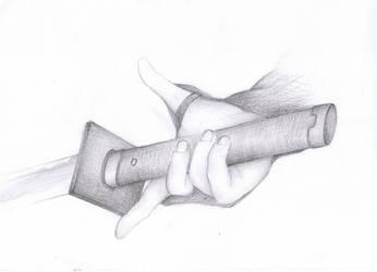 Ninja Hand by ParadigmTradition