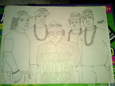 Straight Outta Compton by Ana Smith.